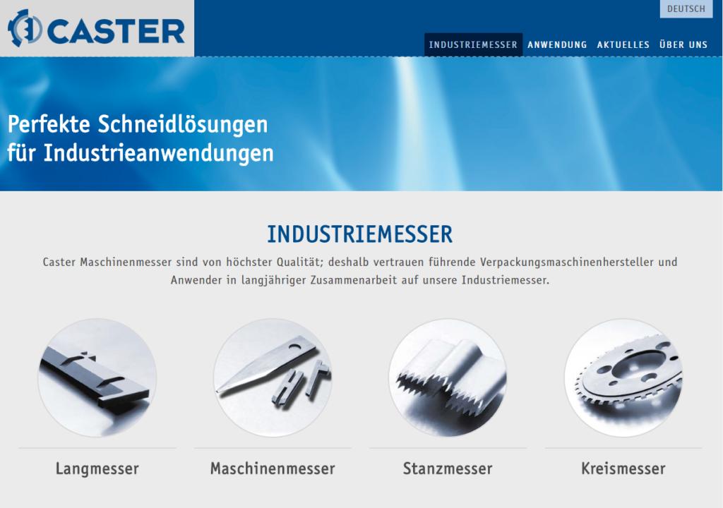 Neue Website: Caster